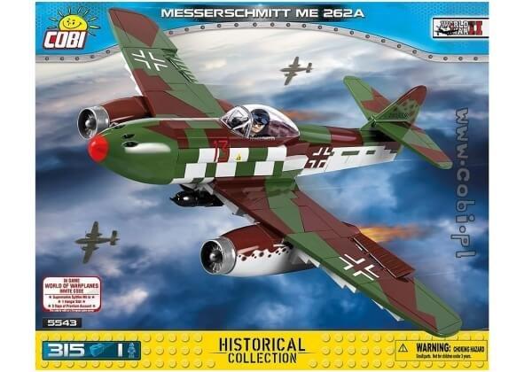 5543 COBI MESSERSCHMITT ME 262A SCHWALBE