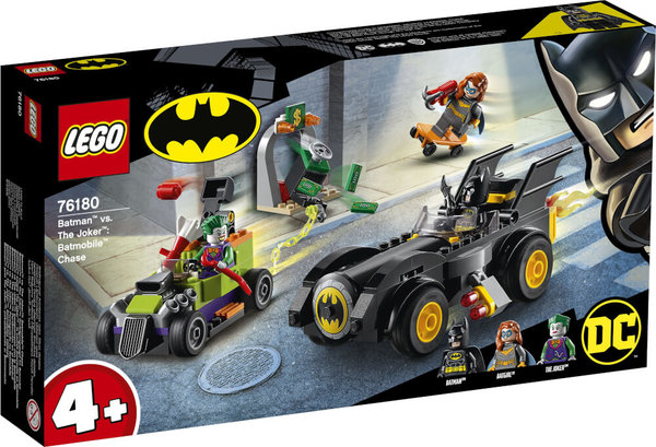 LEGO® DC Universe Super Heroes# 76180 Batman# vs. Joker#: Verfolgungsjagd im Batmobil