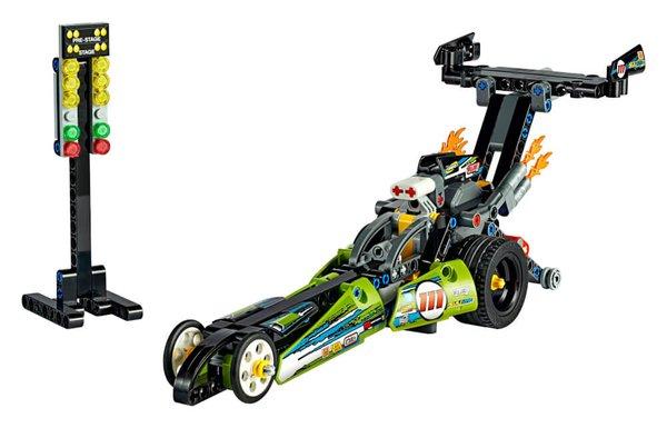 42103 LEGO® Technic Dragster Rennauto