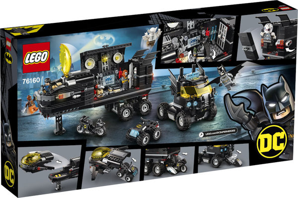76160 LEGO® DC Universe Super Heroes Mobile Batbasis