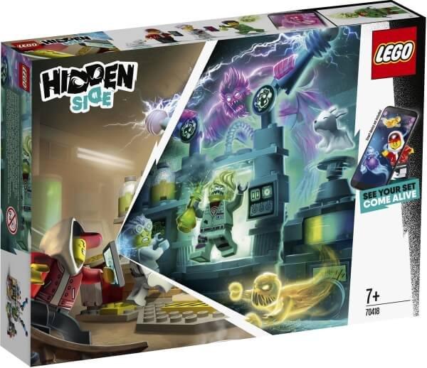 70418 LEGO® Hidden Side  J.B.s Geisterlabor