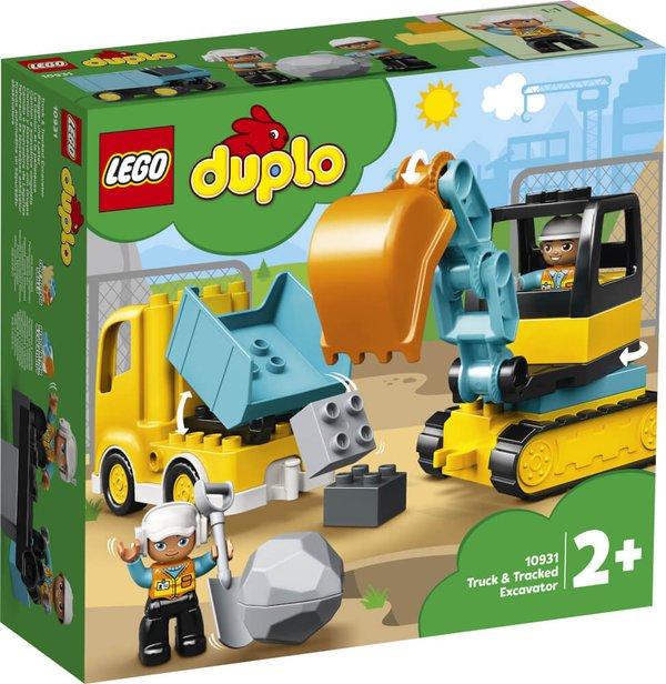10931 LEGO® DUPLO® Bagger und Laster