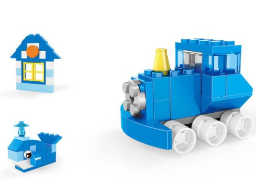 093-6 Wange Designer Creative Basic Construction-Train / Züge