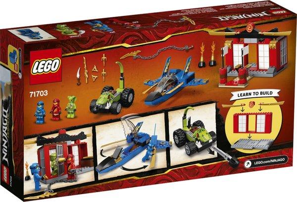 71703 LEGO® NINJAGO Kräftemessen mit dem Donner-Jet