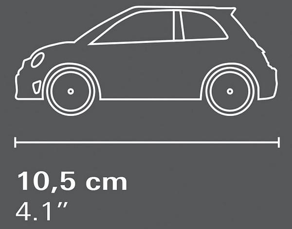 Cobi 24502 Fiat Abarth 595 Competizione