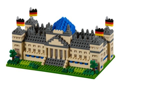 KNOLLIS Reichstag Berlin by BRIXIES Artikel-Nr. 200136