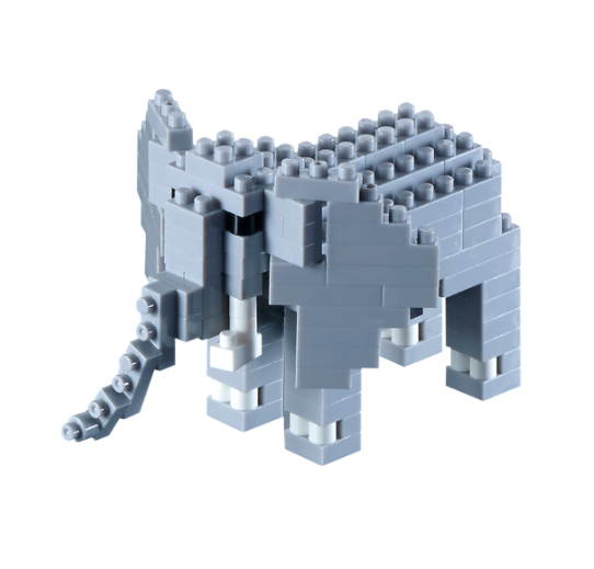 KNOLLIS Elefant by BRIXIES Artikel-Nr. 200092