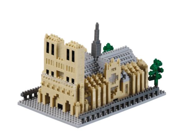 KNOLLIS Kathedrale Notre-Dame by BRIXXIES Artikel-Nr. 200168