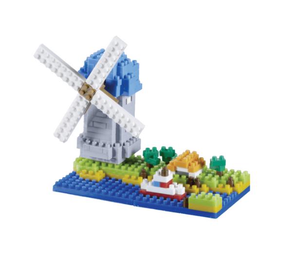 KNOLLIS Windmühle by BRIXIES Artikel-Nr. 200046