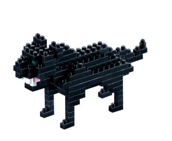 KNOLLIS schwarzer Panther by BRIXIES Artikel-NR. 200076