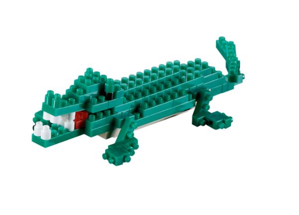 KNOLLIS Krokodil by BRIXIES Artikel-Nr. 200033
