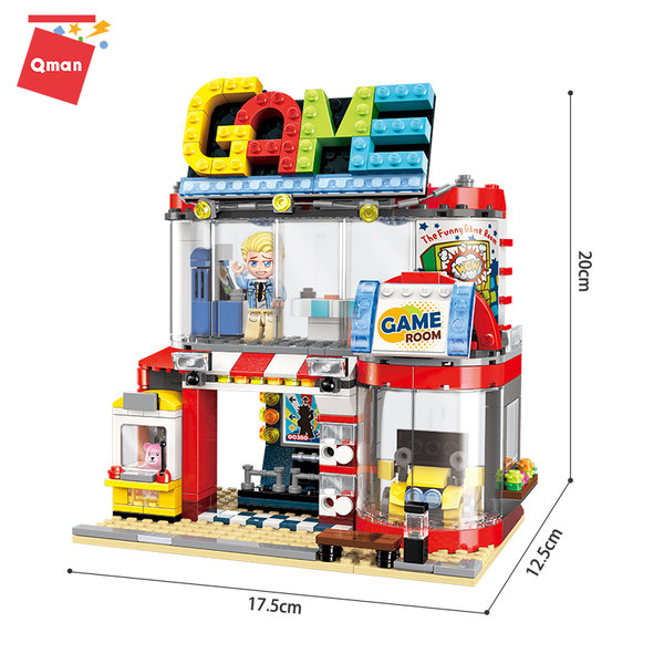 Qman 1135 Colorful City Cool Play Room