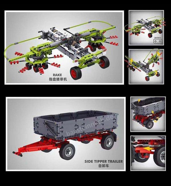 17019 Traktor gelb
