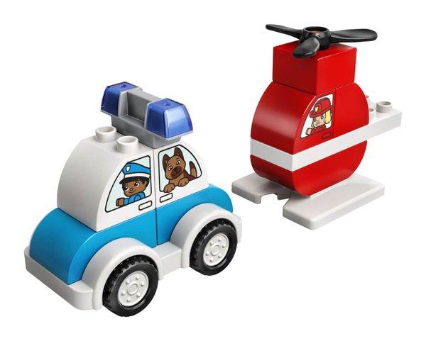 10957 LEGO® DUPLO®  Feuerwehrhubschrauber und Polizeiauto