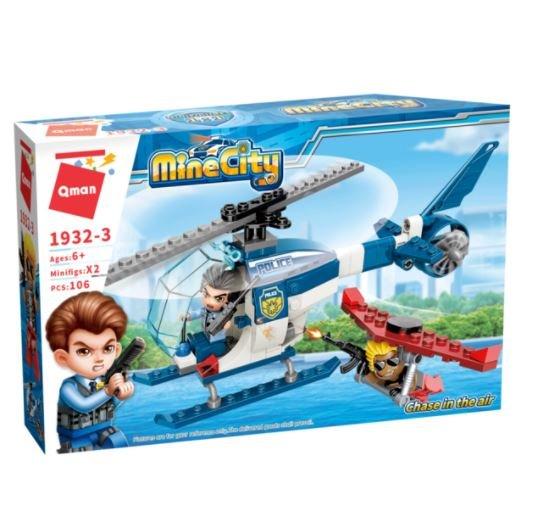 Qman 1932-3 Mine City Luftverfolgungsjagd - Chase in the Air