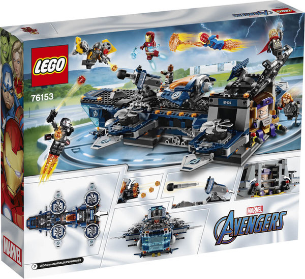76153 LEGO® Marvel Super Heroes Avengers Helicarrier