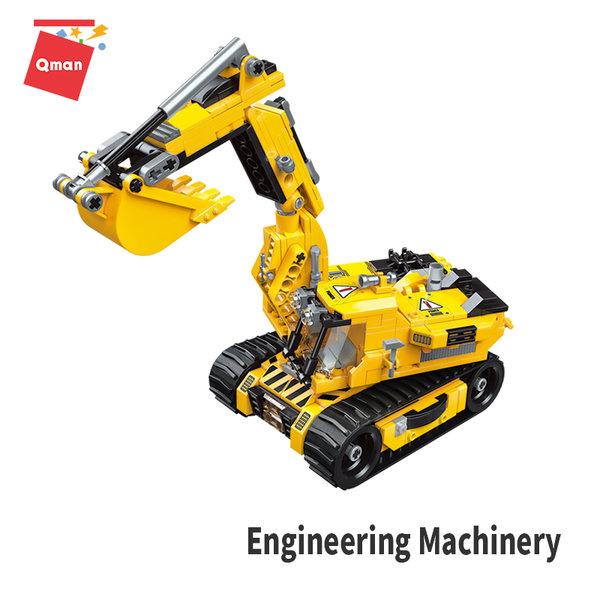 Qman 4805 Engineering Machinery 3in1 Roboter Bagger