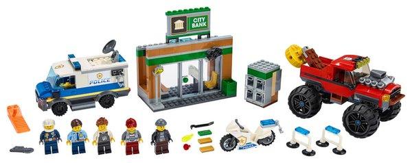 60245 LEGO® City Raubüberfall mit dem Monster-Truck