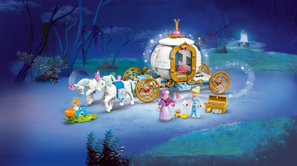 43192 LEGO® Disney Princess Cinderellas königliche Kutsche