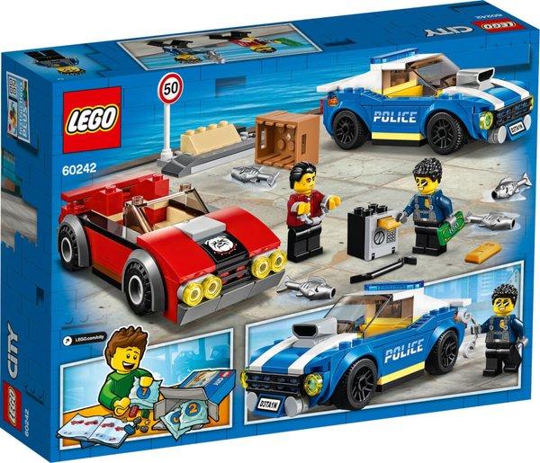 60242 LEGO® City Festnahme auf der Autobahn