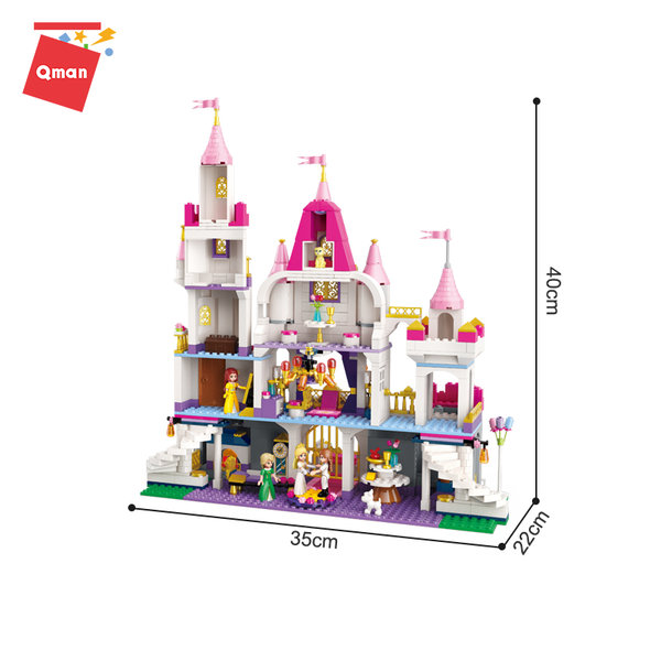 Qman 2612 Princess Leah Schloss Angel Castle