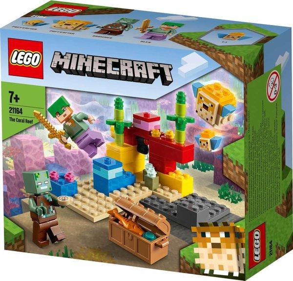 21164 LEGO® Minecraft Das Korallenriff