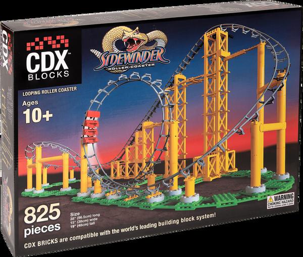CDX Sidewinder Brick Roller Coaster Achterbahn