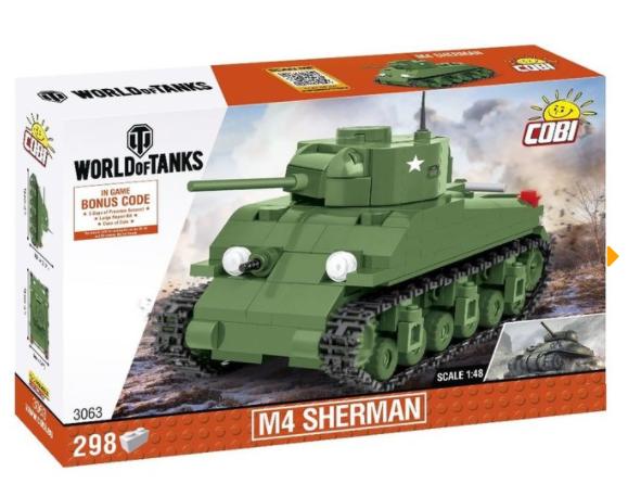 Cobi 3063 M4 Sherman Panzer 1:48 (World of Tanks)