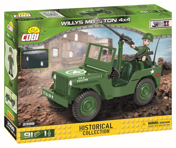 2399 COBI U.S.ARMY TRUCK 1/4TON