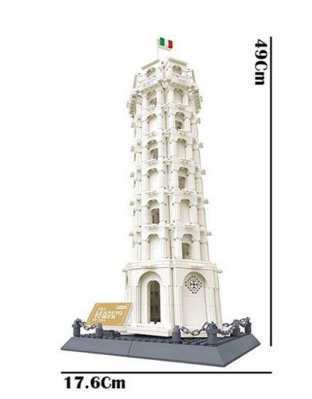 Wange 5214 Architect-Set Der schiefe Turm von Pisa 1392 Teile