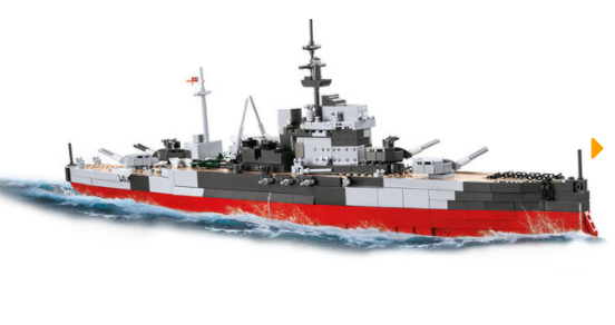 Cobi 4820 HMS Warspite (Historical Collection )
