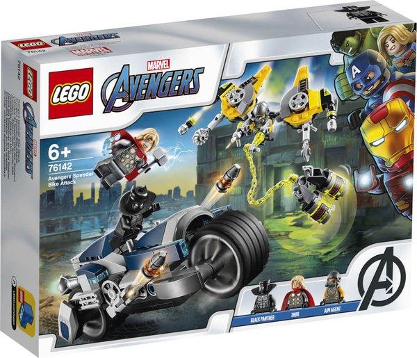 76142 LEGO® Marvel Super Heroes Avengers Speeder-Bike Attacke