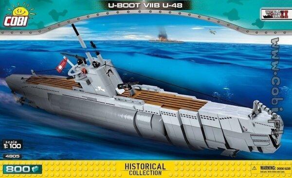 4805 COBI WS GERMAN SUBMARINE TYPE VIIB U-BOOT