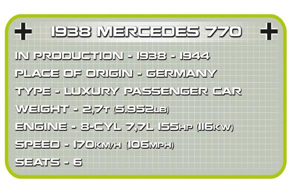 Cobi 2407 Mercedes 770 (1938)