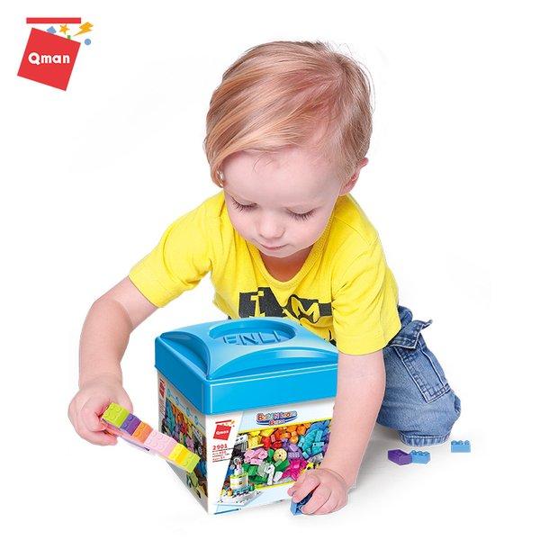 Qman 2901 Build n Learn Box 460 Teile Starter-Set