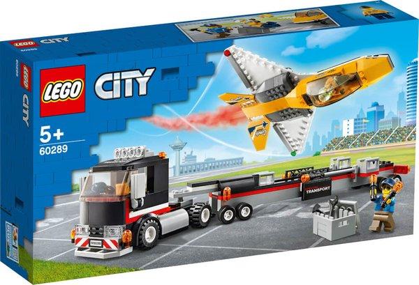 60289 LEGO® City  Flugshow-Jet-Transporter
