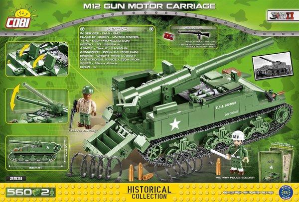 2531 COBI M12 Gun Motor Carriage