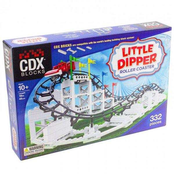 CDX Little Dipper Brick Roller Coaster Achterbahn
