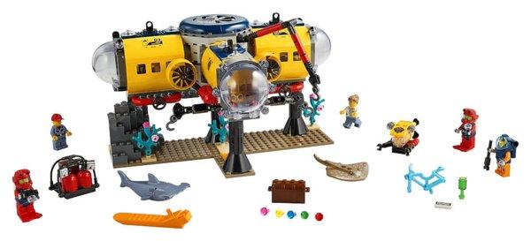 60265 LEGO® City Meeresforschungsbasis