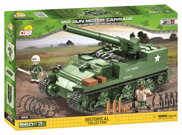 2531 COBI M12 Gun Motor Carriage
