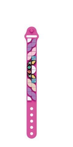 Wange 6505 pinkes Armband mit 1x1 Plates mit Weltraum-Motiven