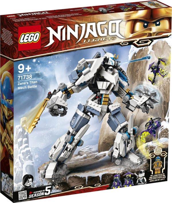 71738 LEGO® NINJAGO Zanes Titan-Mech