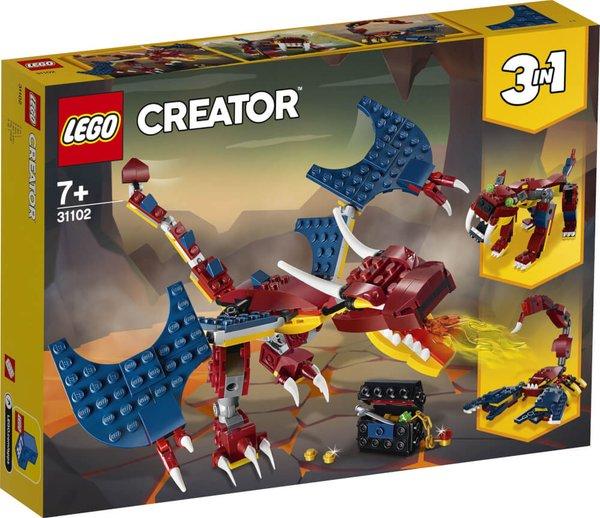 31102 LEGO® Creator Feuerdrache