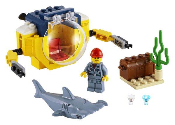 60263 LEGO® City Mini-U-Boot für Meeresforscher