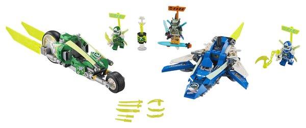 71709 LEGO® NINJAGO Jay und Lloyds Power-Flitzer