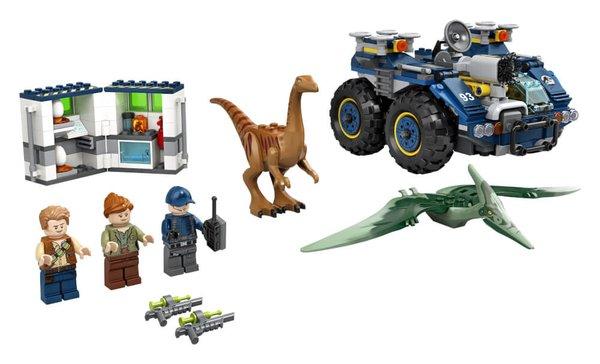 75940 LEGO® Jurassic World Ausbruch von Gallimimus und Pteranodon
