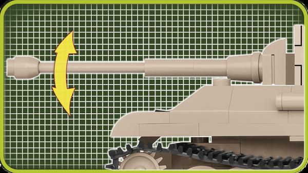 Cobi 2704 Panzerkampfwagen V Panther Scale 1:48 Pad printed - no Stickers