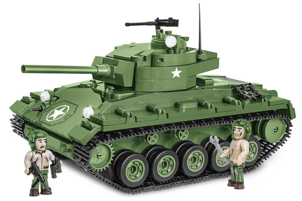 Cobi 2543 M24 CHAFFEE - pad printed - (Historical Collection, WWII)