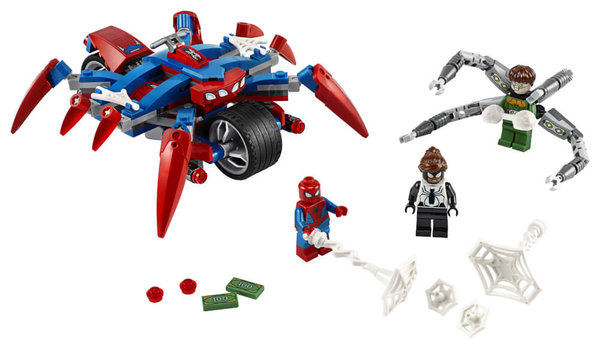 76148 LEGO® Marvel Super Heroes Spider-Men vs. Doc Ock