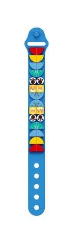 Wange 6501 blaues Armband mit 1x1 Plates mit Tiermotiven